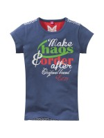 Chaos and Order t-shirt Per red