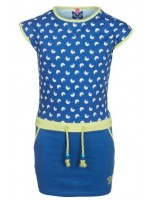 Chaos & Order jurk Geena Bright Blue