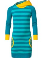 Chaos & Order jurk Jackie Petrol vk