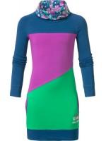 Chaos & Order jurk Jade Deep Blue vk