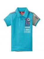 Chaos & Order t-shirt polo Hordan Aqua