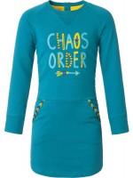 Chaos & Order jurk Jazz Petrol