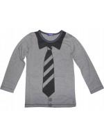 Longsleeve met stropdasprint van het merk Claesens.