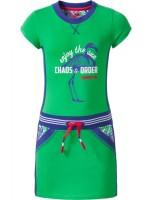 Chaos & Order jurk Darah Green