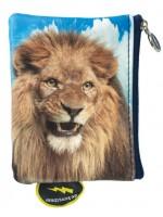 Portemonnee met leeuw van het hippe merk De Kunstboer.