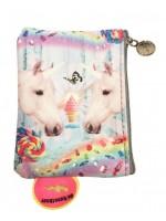 Portemonnee met unicorns van het hippe merk De Kunstboer.