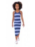 Br@nd for Girls Summer Dress long blue stripe