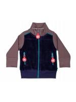 Kik-Kid vest terry d. blue/grey