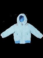 Ducksday reversible winterjas ace/light blue