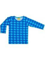 Hippe legging met turquoise dots van het hippe merk Duns Sweden.  De legging is gemaakt van GOTS gecertificeerd biologisch katoen. Dat is wel zo prettig!