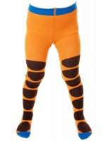 Toffe oranje maillot met bruine stippen van het hippe merk Duns Sweden.   De maillot van Duns Sweden is gemaakt van GOTS gecertificeerd biologisch katoen. Dat is wel zo prettig!