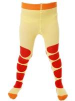 Toffe gele maillot met rode stippen van het hippe merk Duns Sweden.   De maillot van Duns Sweden is gemaakt van GOTS gecertificeerd biologisch katoen. Dat is wel zo prettig!