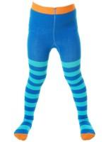 Toffe blauw met turquoise gestreepte maillot van het hippe merk Duns Sweden.   De maillot van Duns Sweden is gemaakt van GOTS gecertificeerd biologisch katoen. Dat is wel zo prettig!