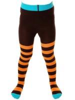 Toffe oranje/bruin gestreepte maillot van het hippe merk Duns Sweden.   De maillot van Duns Sweden is gemaakt van GOTS gecertificeerd biologisch katoen. Dat is wel zo prettig!