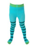 Toffe turquoise/petrol gestreepte maillot  van het hippe merk Duns Sweden.  De maillot is gemaakt van GOTS gecertificeerd biologisch katoen. Dat is wel zo prettig!