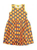 Duns Sweden jurk Daisy yellow n/s