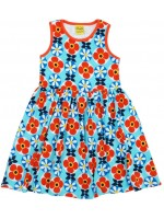 Duns Sweden sleeveless dress flower blue