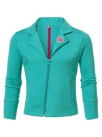 Chaos & Order jacket Ebba Turquoise