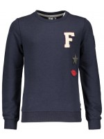 Like Flo sweater badges navy