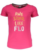 Like Flo t-shirt v-neck fuchsia