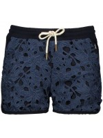 Like Flo flower lace short navy