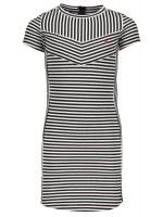 Like Flo interlock blocking dress stripe