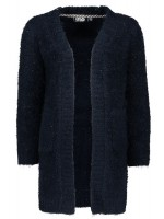 Like Flo hairy long cardigan navy