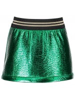 Like Flo green metalic skirt