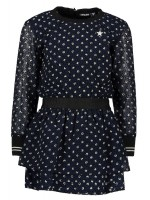 Like Flo viscose dress navy