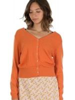 Oranje vest van het Belgische merk Froy & Dind.