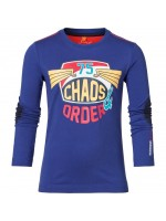 Chaos and Order longsleeve Gerold blauw