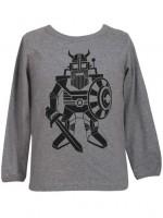 Danefae longsleeve grijs robot erik de viking