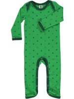 Smafolk jumpsuit appels groen