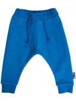 Delfsblauwe sweat pants van het Deense merk Danefae.