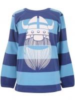 Danefae longsleeve blauw gestreept erik de viking