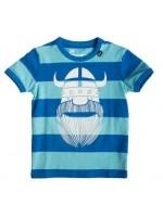 Danefae t-shirt Erik lakeblue/ babyblue