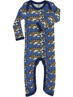 Smafolk jumpsuit luipaard blauw