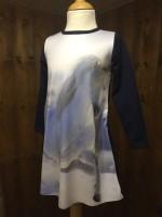 Wooden Buttons jurk Subli paard sneeuw