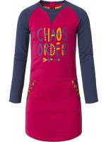 Chaos & Order jurk Jazz sweat Wine Red