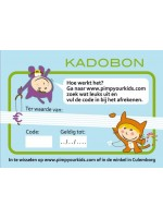 Pimp Your Kids kadobon 50 euro