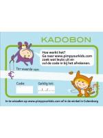 Pimp Your Kids kadobon 5 euro