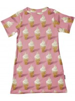 Snurk T-shirt dress icecream
