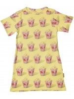Snurk T-shirt dress popcorn