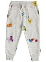 Snurk sweat pants knitted flowers