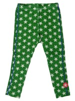 Kik-Kid legging jersey print star green/white
