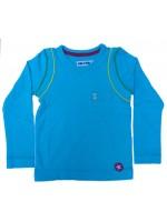 Kik-Kid longsleeve jersey soft blauw