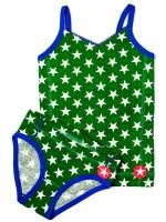 Kik-Kid ondergoed jersey print girl green/white