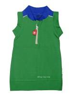 Kik-Kid jurk sleeveles green