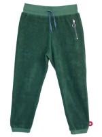 Groene badstof broek van het merk Kik-Kid.