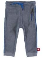 Kik-Kid broek terry grey-blue